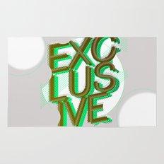 #exclusive Rug