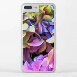 Petalmania Clear iPhone Case