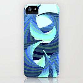 Grafidoodle Waves I iPhone Case