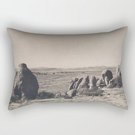 Desert Rocks Rectangular Pillow