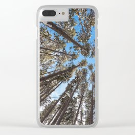 Yellowstone National Park - Lodgepole Forest Clear iPhone Case