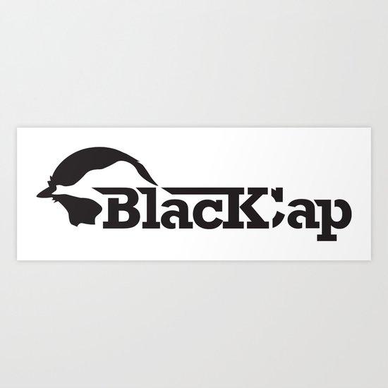Black Cap  Art Print