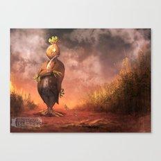 Money Scarecrow Canvas Print