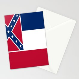 Flag of mississippi-flag of mississippi,south,Mississippian,usa, america,jackson,gulfport,Southaven Stationery Cards