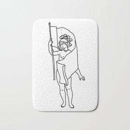 Roman with Flag Bath Mat