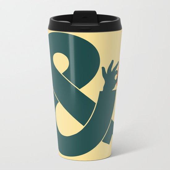 You and I Metal Travel Mug