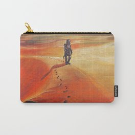 The Martian Mars walk inspired chalk drawing Carry-All Pouch