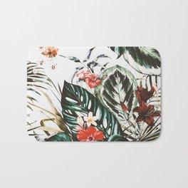 Jungle watercolor Bath Mat