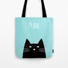 Purr Tote Bag