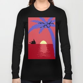Voyage  at  the  Cantaloupe  Seas Long Sleeve T-shirt