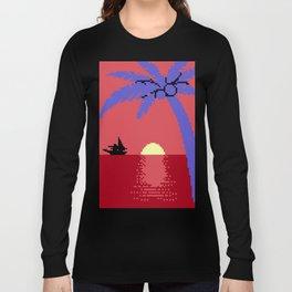 Voyage at the Cantaloupe Seas Long Sleeve T-shirt