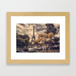 La Tour Eiffel_01 Framed Art Print