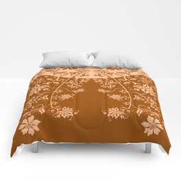 floral ornaments pattern cb Comforters