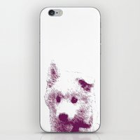 puppy iPhone & iPod Skins featuring Puppy by Deliratio