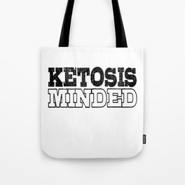 Keto Diet Ketosis Minded LCHF Healthy Lifestyle Ketone Lover Tote Bag