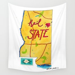 Hail State Wall Tapestry