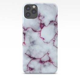 Blood Marble iPhone Case