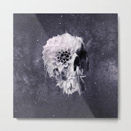 Decay Skull Metal Print