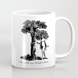 Milton - Paradise Lost - Eve and the Serpent Coffee Mug