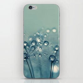 Chilly Blue Drops iPhone Skin
