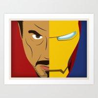 Iron Stark Art Print