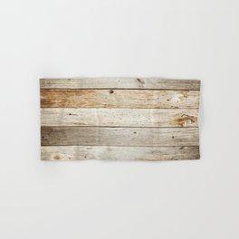 Rustic Barn Board Wood Plank Texture Hand & Bath Towel