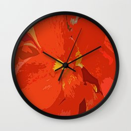 One Night with You-d Wall Clock