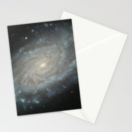 Spiral Galaxy, NGC 3370 Stationery Cards