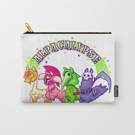 Alpacalypse Carry-All Pouch