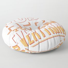just here to reject anything saying Floor Pillow