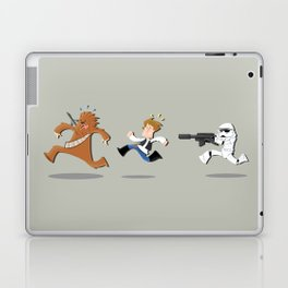 Han Solo & Chewbacca Laptop & iPad Skin