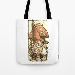 Gnome Minstrel Tote Bag