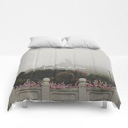 Hong Kong Tian Tan Buddha Comforters