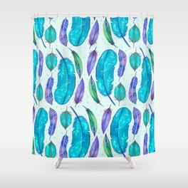 Feathers I Shower Curtain
