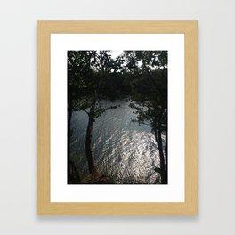 The Rope Framed Art Print