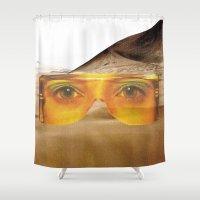 safari Shower Curtains featuring SAFARI  by Tina Time