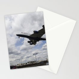 British Airways A380 Heathrow Airport Stationery Cards