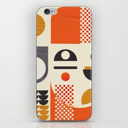 Mid-century no1 iPhone Skin