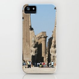 Temple of Luxor, no. 12 iPhone Case