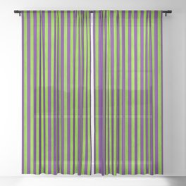 Stripes Collection: Magic Sheer Curtain