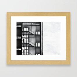 Urban Climb Framed Art Print
