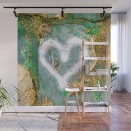 graffiti heart Wall Mural
