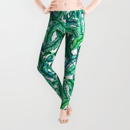 Jungle Leaf Leggings