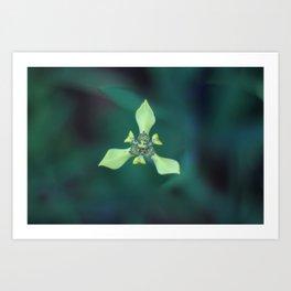 Triangle Flower Art Print
