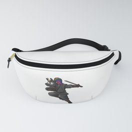 Ninja Unicorn | Mythical Martial Arts Warrior Fanny Pack