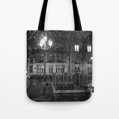 Paris road Tote Bag