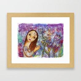 Joy by patsy paterno Framed Art Print