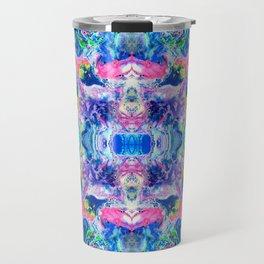 Bathbomb, psychedelic, trip, mushrooms, acid, lsd Travel Mug