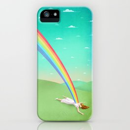Can you support your dreams? iPhone Case
