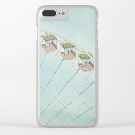 The Giant Wheel Clear iPhone Case